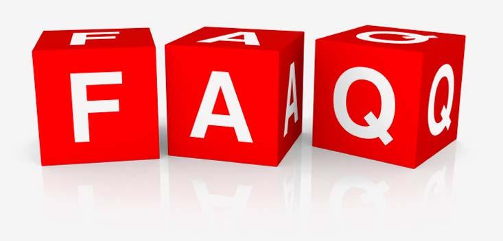 FAQ logo - Domande frequenti