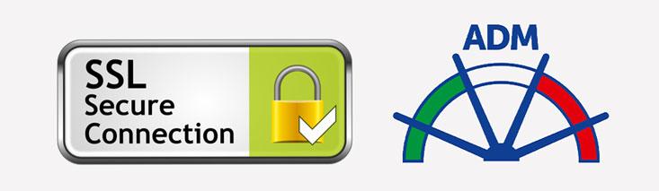 Certificato SSL e logo ADM