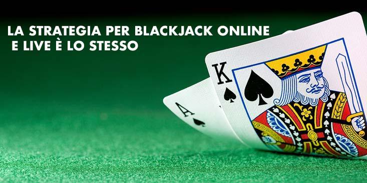 immagine di una mano di blackjack 21