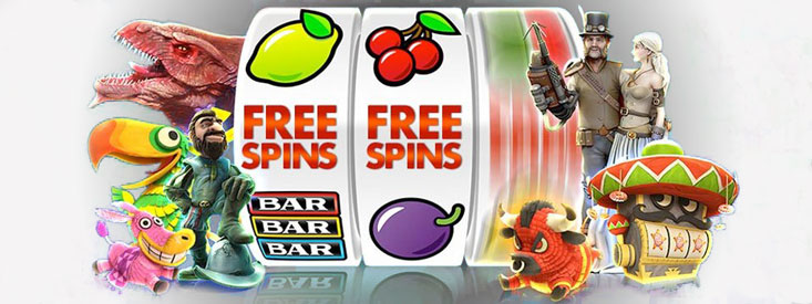Giri gratuiti su una slot machine