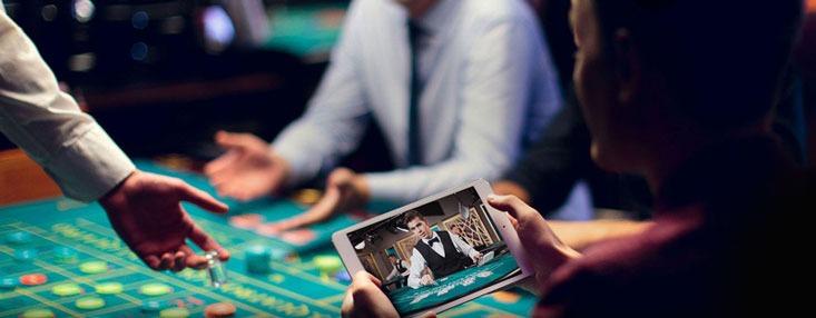 giocare a blackjack dal vivo su un iPad