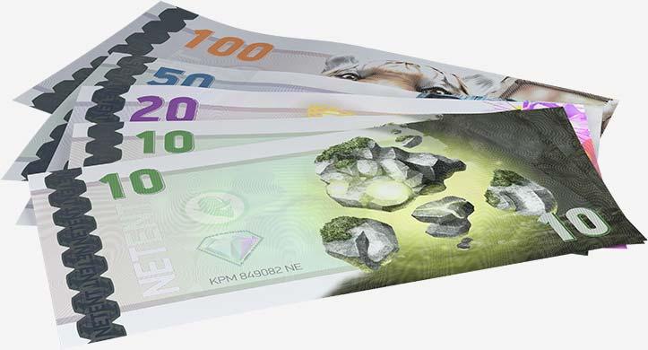 immagine di denaro bonus gratuito per i giochi netent