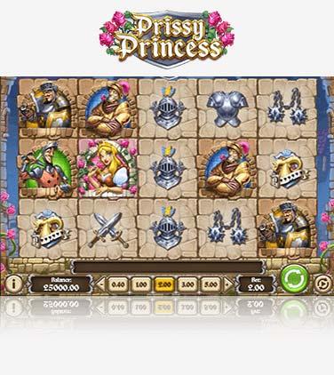 Screenshot di Prissy Princess di Play'n Go