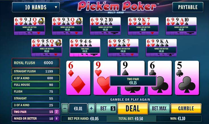 screenshot di Pick em Poker